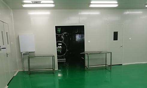修正药业厂房装修工程案例