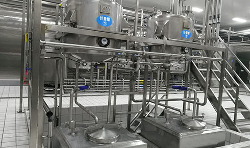欧米尔冰淇淋厂房——华盛纬来体育在线直播nba厂房装修案例