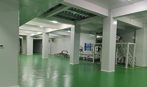 四川美料美味食品科技有限公司厂房装修工程案例