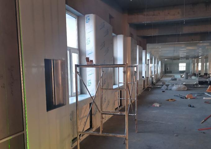 华盛纬来体育在线直播nba厂房装修工程拓展内蒙古市场